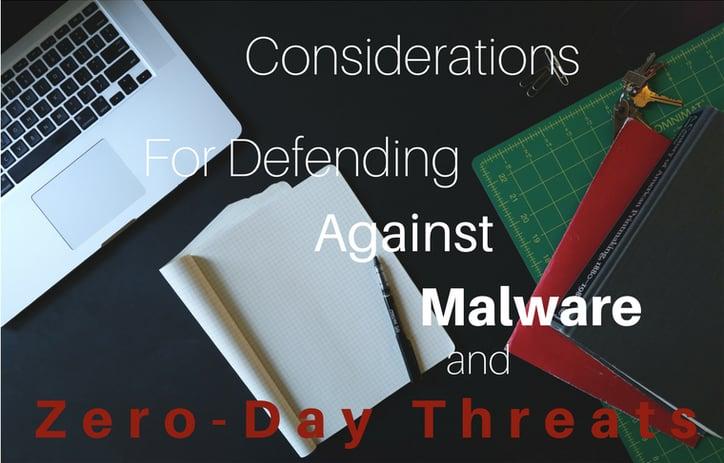Defending against malware